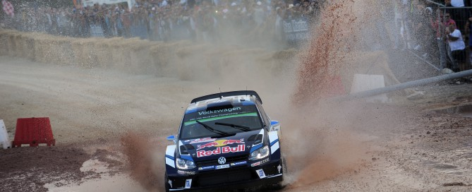 Car #1 S. Ogier  J. Ingrassia (Volkswagen Polo R WRC)