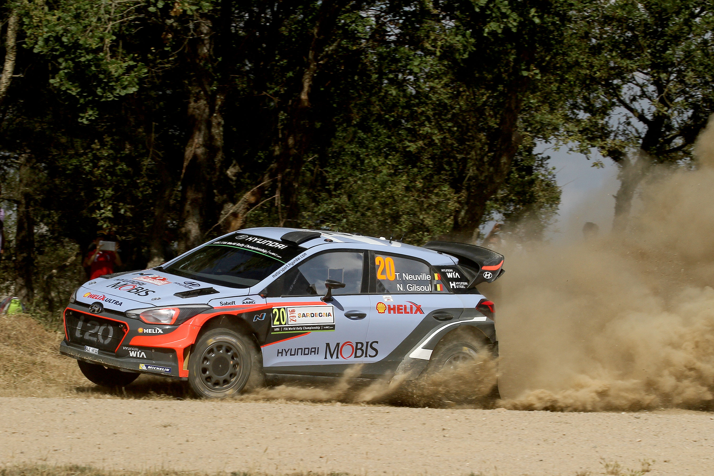 Car #20 T. Neuville  N. Gilsoul (Hyundai New Generation I20 WRC) (2)