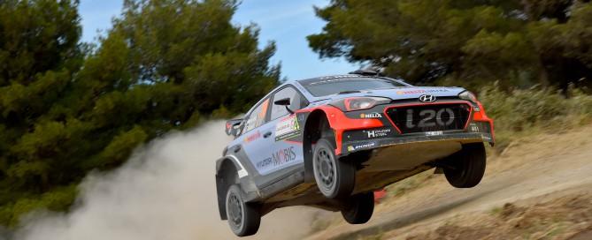 Car #20 T. Neuville  N. Gilsoul (Hyundai New Generation I20 WRC) (20)