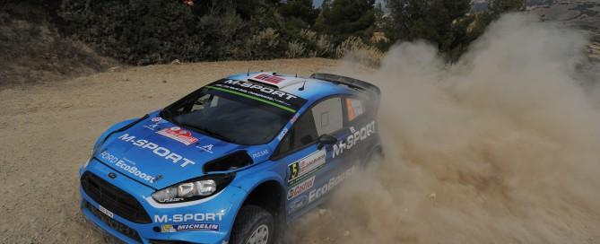 Car #5 M. Ostberg  O. Floene (Ford Fiesta RS WRC) (33)